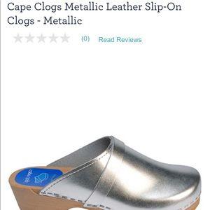 Cape Clogs Metallic clogs